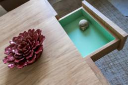 table basse personnalisée Cubocarré Drugeot Labo
