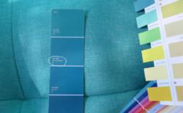 Décoratrice d'intérieur Ariège choix couleur bleu