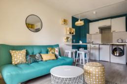 décoratrice d'intérieur Ariège canapé Maisons du monde